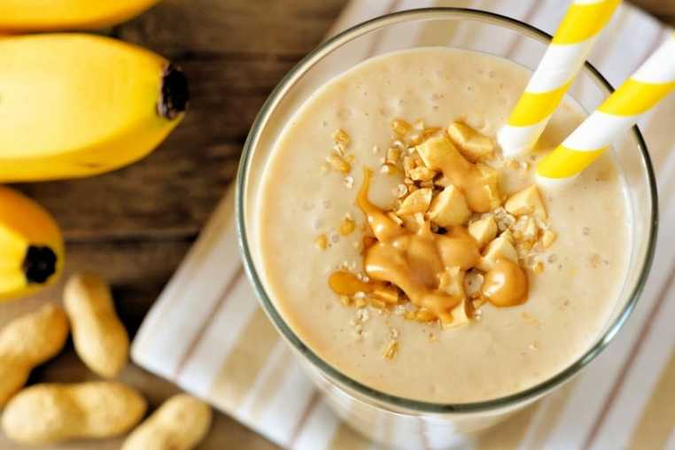 Peanut Butter Bomb Smoothie For Two Recipe — Dishmaps