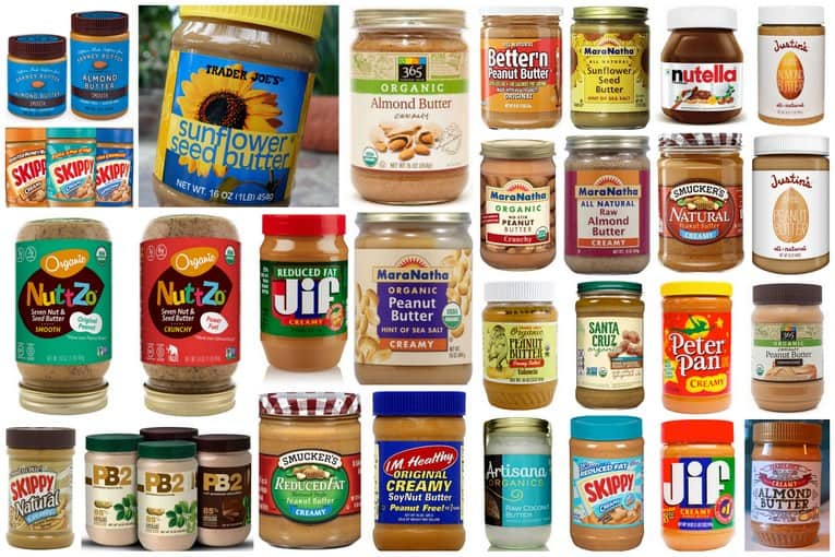 Nut butters and peanut butters - all