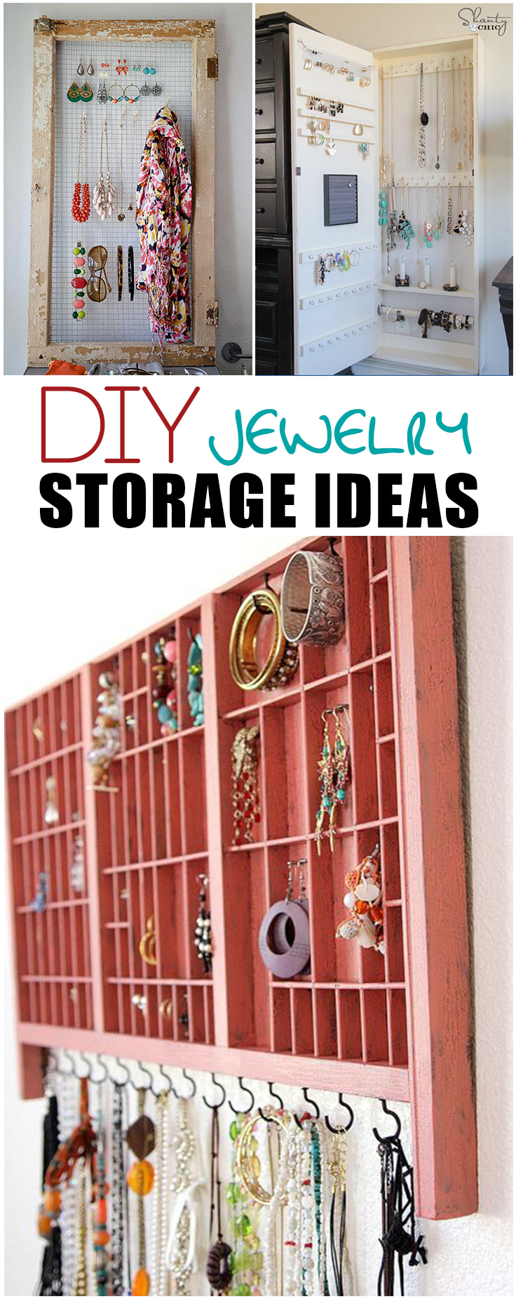 Jewelry Organization Ideas Page 4 Of 7 Picky Stitch