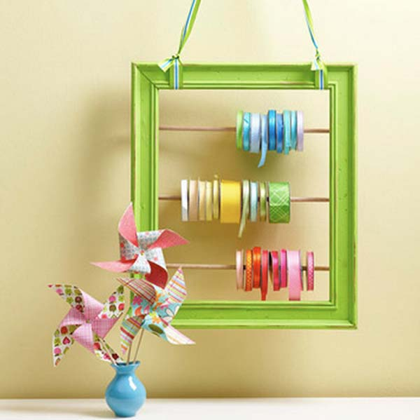10 creative uses for old picture frames page 7 of 11 for Creative ideas for old picture frames