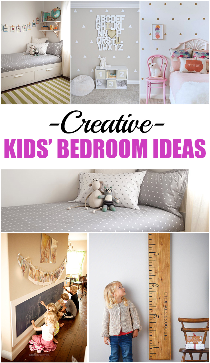 Creative kids 39 bedroom ideas for Creative bedroom designs
