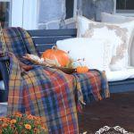 Fall porch, fall porch hacks, design hacks, Halloween, fall holiday, popular pin, seasonal decor, fall decor.