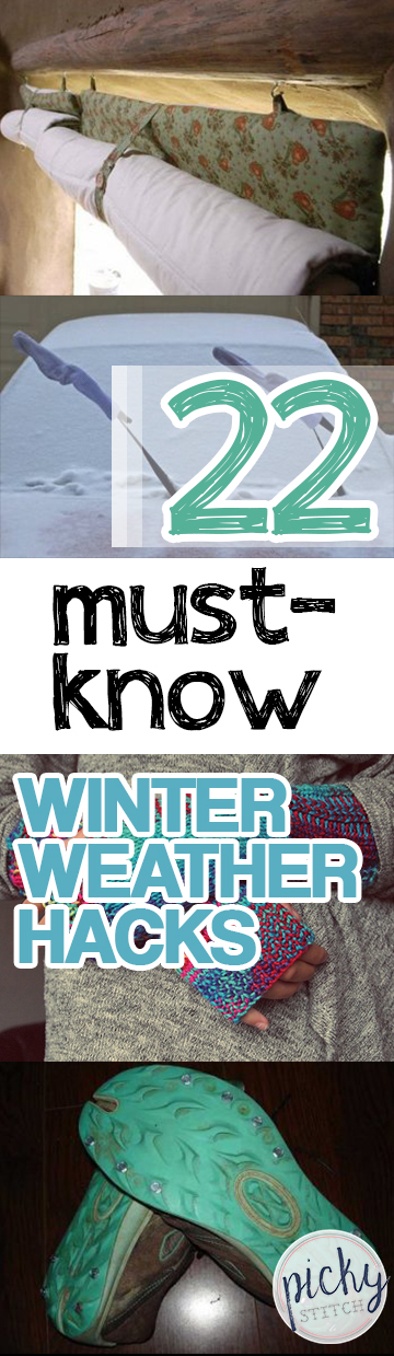 Winter Weather, Winter Weather Hacks, Winter TIps, How to Surivive Winter, Winter Weather Tips and Tricks, Winter Holiday, Life Hacks, Easy Tips and Tricks, Easy Life Hacks