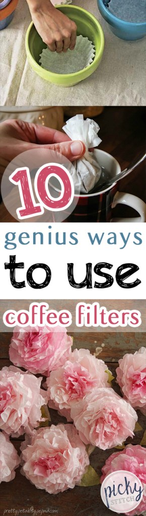 How to Reuse Coffee Filters, Ways to Reuse Coffee Filters, Things to Do With Coffee Filters, Coffee Filter Crafts, Crafts to Do With Coffee Filters, Coffee Filter Crafts, Popular Pin