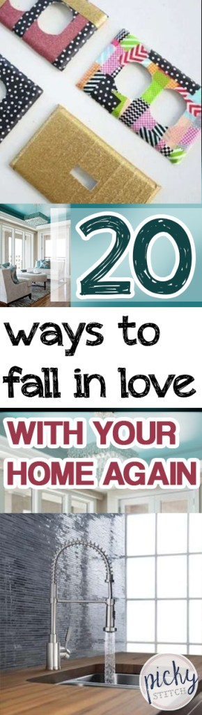20 Ways to Fall In Love With Your Home Again Home, Home Decor, Home Decor Ideas, DIY Home Decor, Quick Home Improvements, Fast Home Remodels, One Day Home Improvement, DIY Home Improvement, Popular DIY Pin