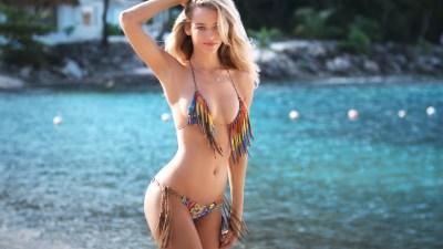 Rebecca Ferguson Bikini Desktop Wallpaper 725 1920x1080 px ~ PickyWallpapers.com