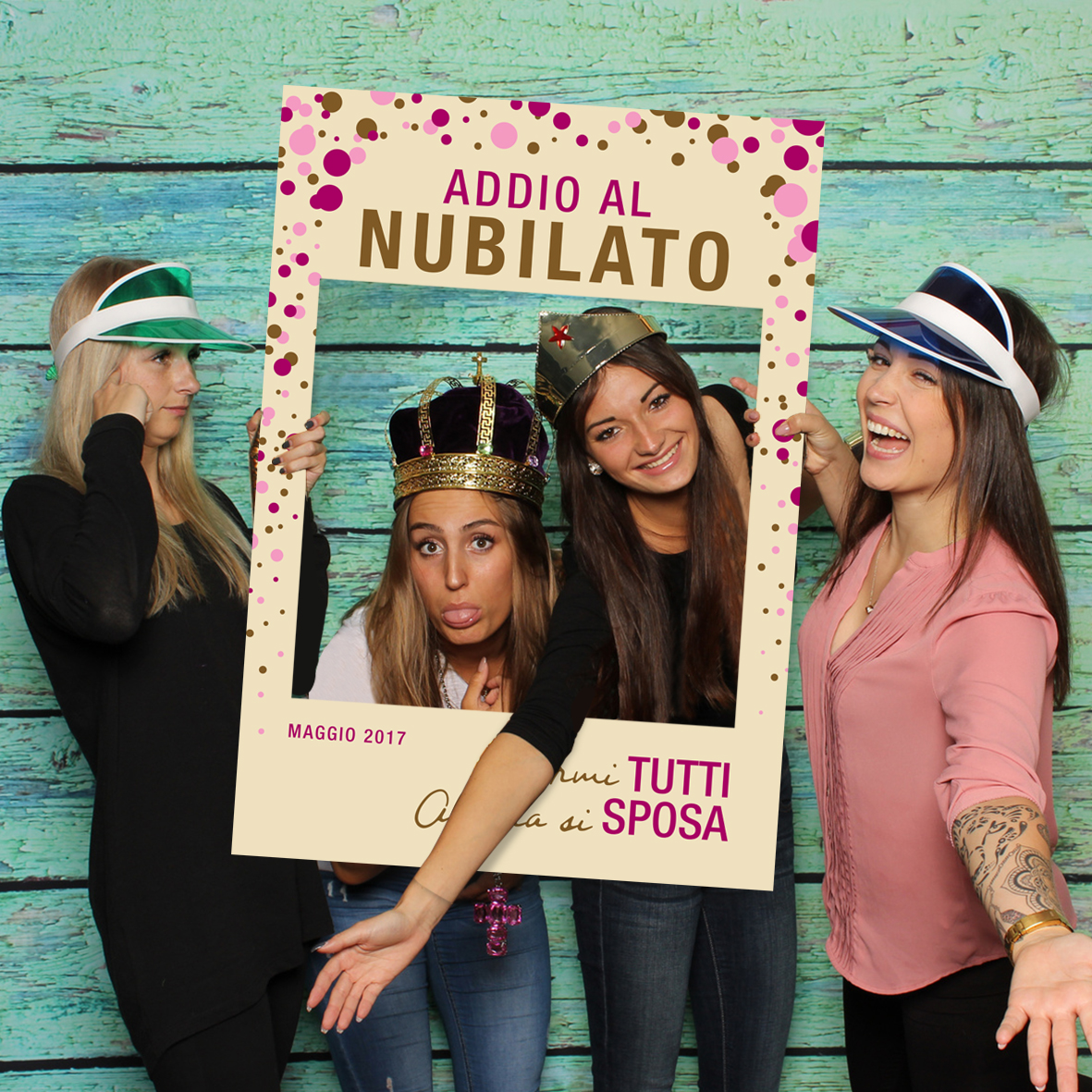 Cornici Photo Booth Fai Da Te Cornice Photo Booth Addio Al Nubilato Sceglila Su Picmee