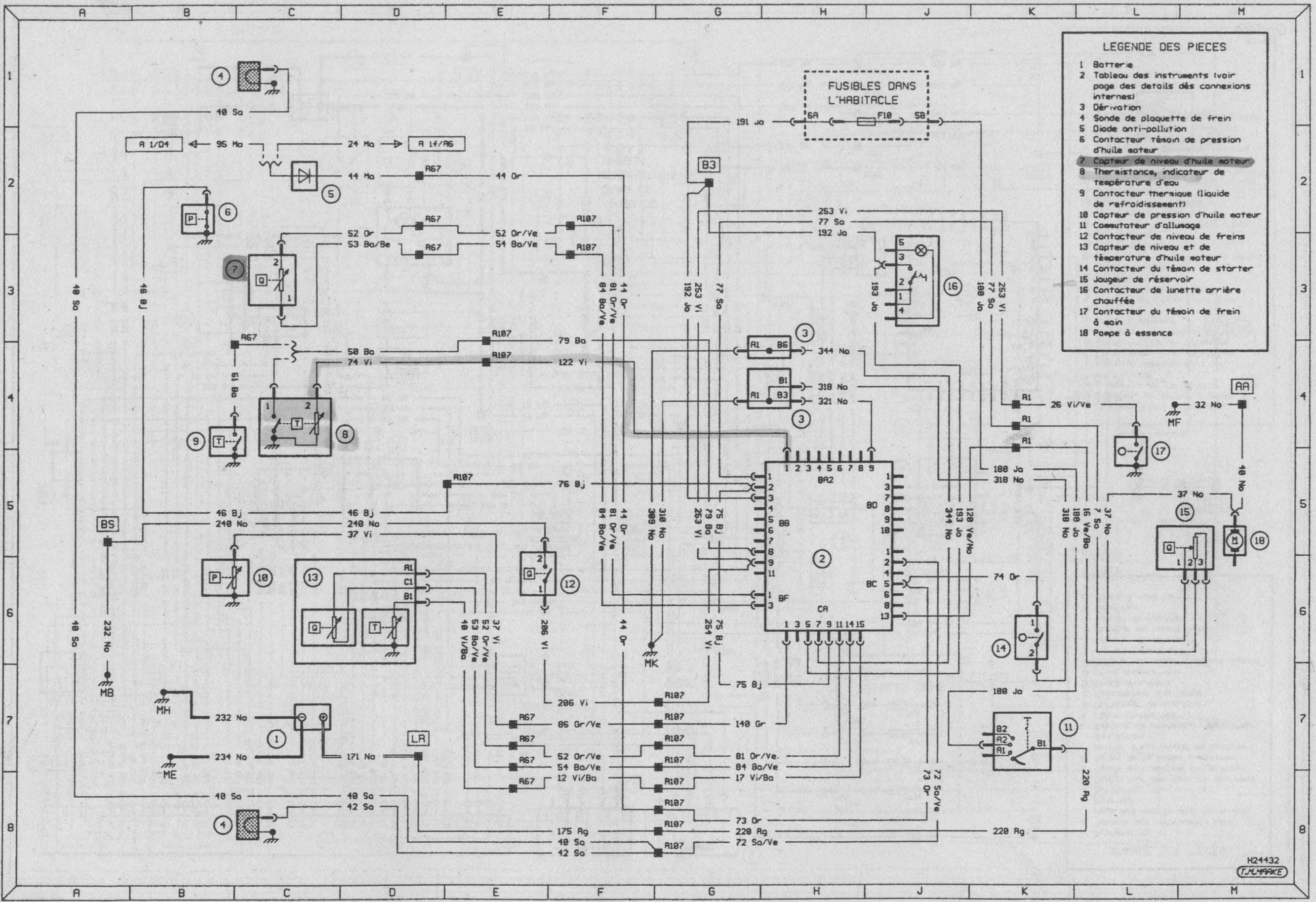 byd auto schema cablage tableau electrique