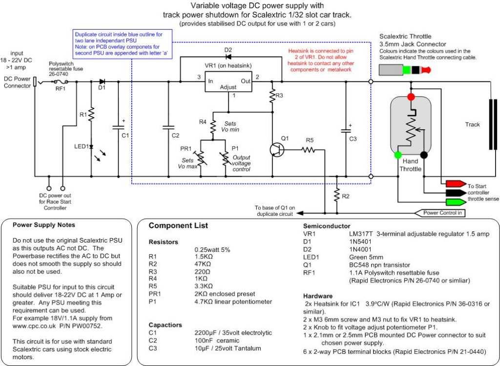 Slot Car Wiring Diagram Download Wiring Diagram