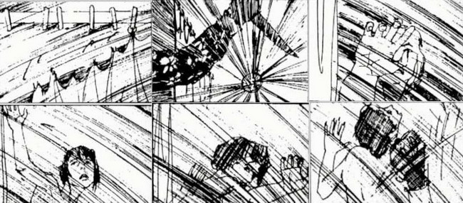 killing scene hansel \ gretel storyboard ideas 2 Pinterest - film storyboards