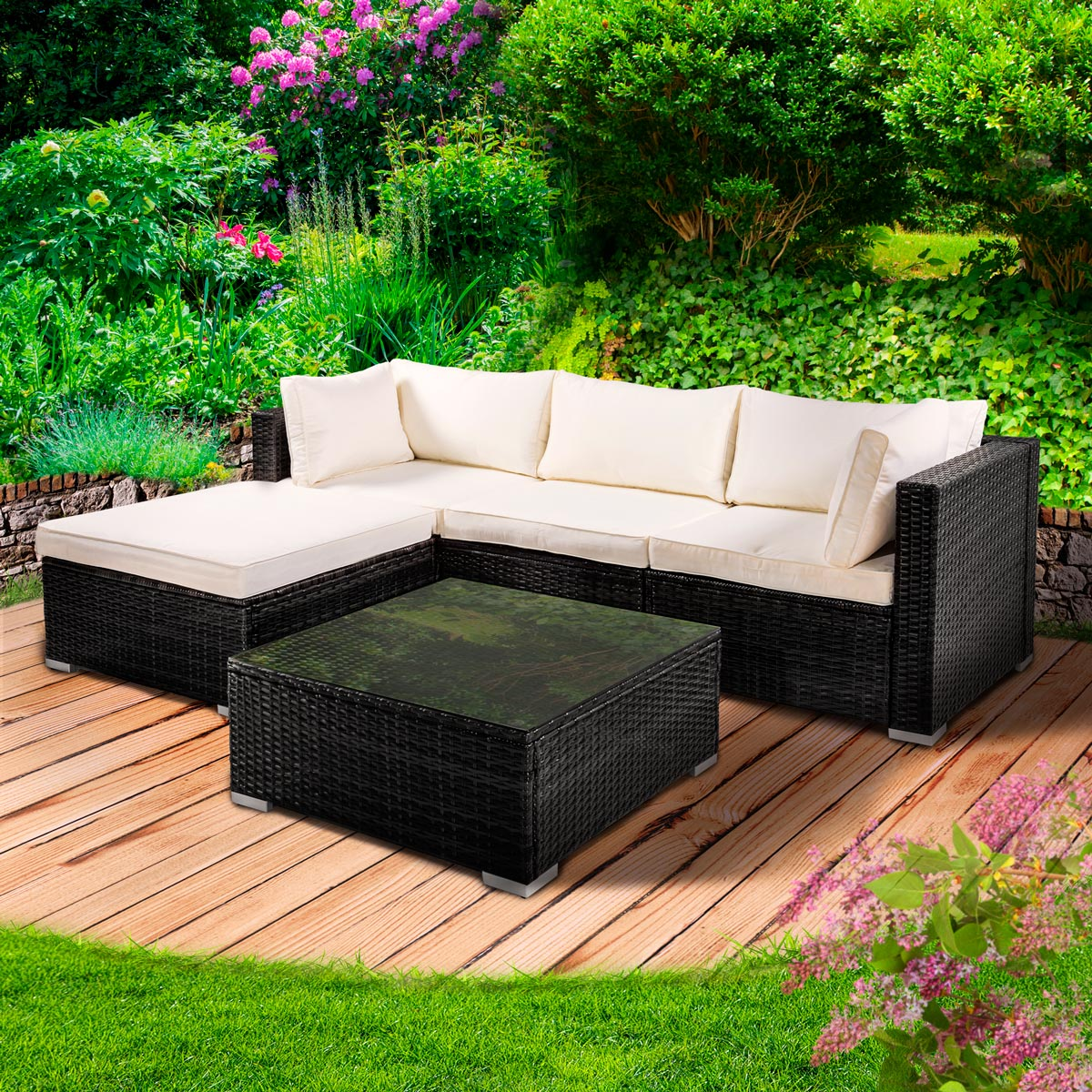 Lounge Mobel Artelia Loungemobel Set Estoria S Fur Terrasse Und Garten