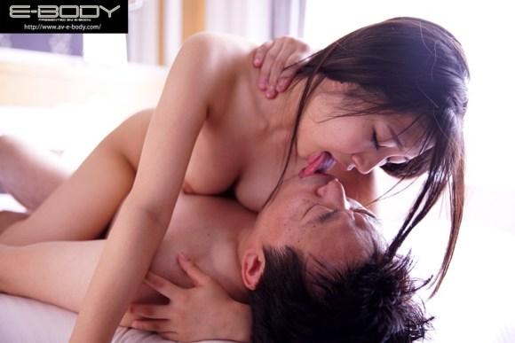 佐倉ねね ねっとり濃厚な接吻と発情ベロキス性交サンプルイメージ1枚目