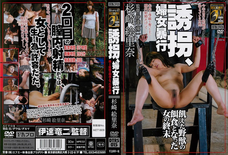 DTRS-015 Kidnapping, Sexual Assault Sugisaki Erina