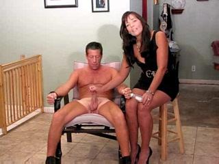 dominatrix handjob