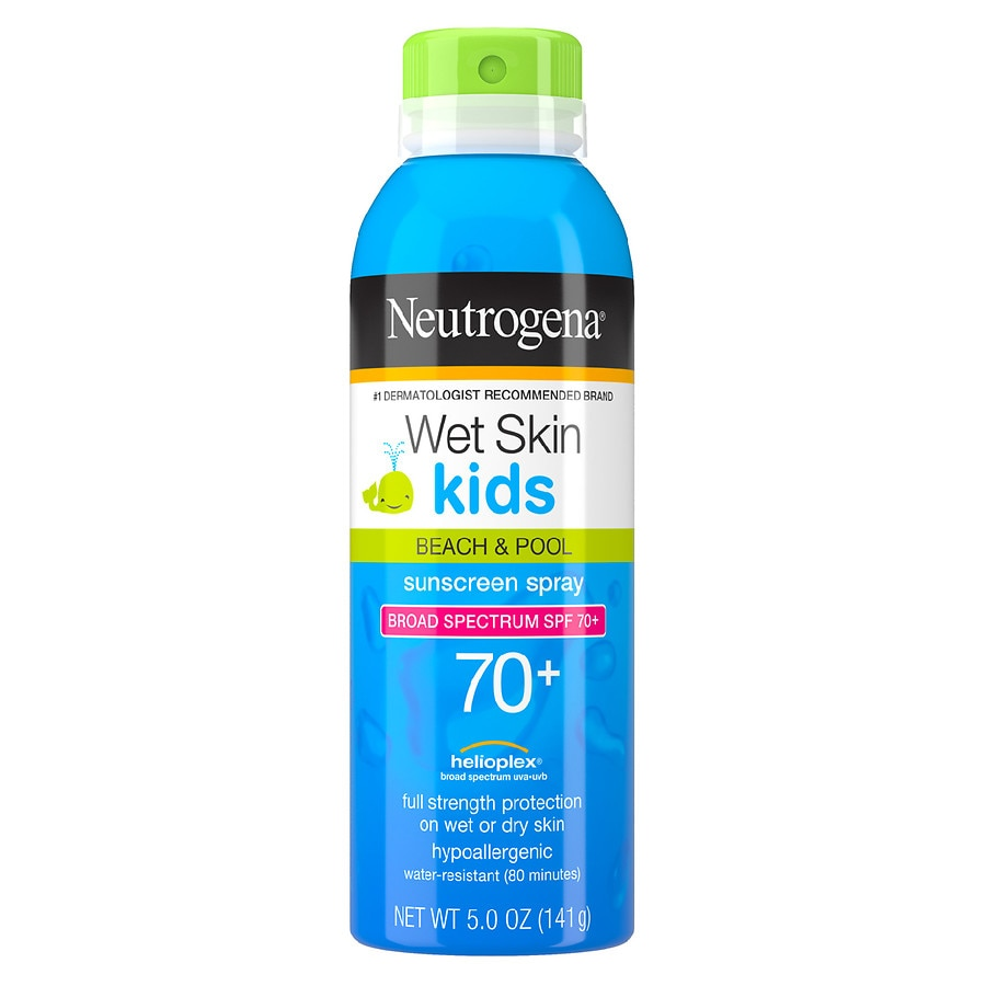 Gfk Pool Sale Neutrogena Wet Skin Kids Beach Pool Sunblock Spray Spf 70