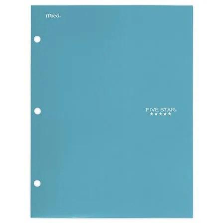 Mead Five Star Pocket Portfolio Walgreens - walgreens resume paper