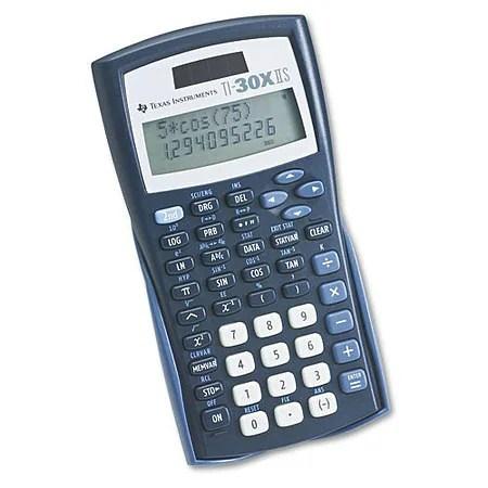 Texas Instruments Scientific Calculator TI-30X IIS Walgreens