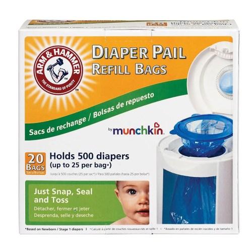 Medium Of Munchkin Diaper Pail Refills