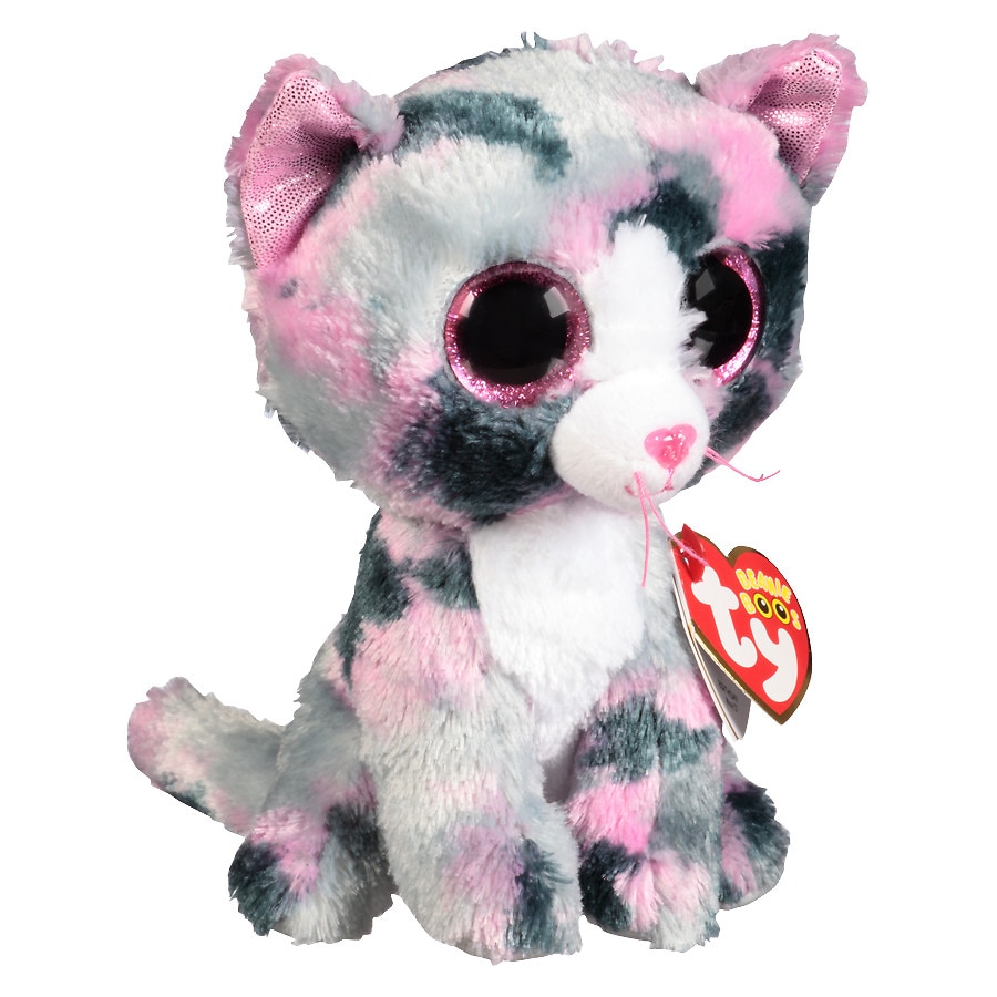 Cat Plush Toy Ty Beanie Boos Lindi Cat Plush Toy Walgreens