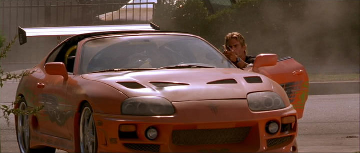 The Fast And The Furious Cars Wallpaper Collection Imcdb Org 1995 Toyota Supra Mk Iv Jza80 In Quot The Fast