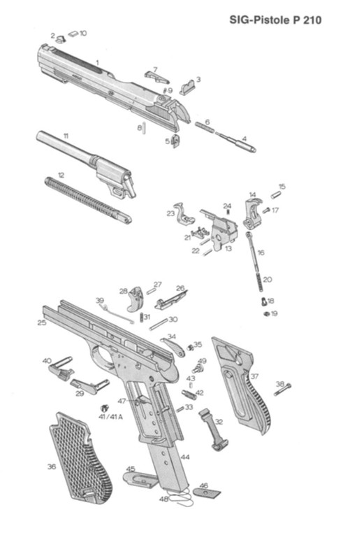 glock schematic guns lot