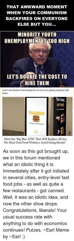 Rummy That Awkward Moment When Your Communismbackfires On That Awkward Moment When Your Communism Backfires On Everyone Else Eating Fast Food Memes Fast Food Logo Memes Fast