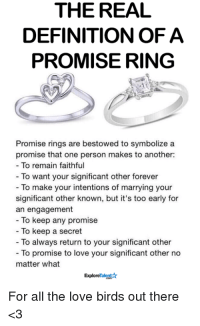 25+ Best Memes About a Promise Ring | a Promise Ring Memes