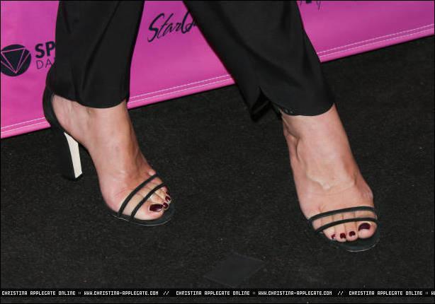 Christina Applegate39s Feet