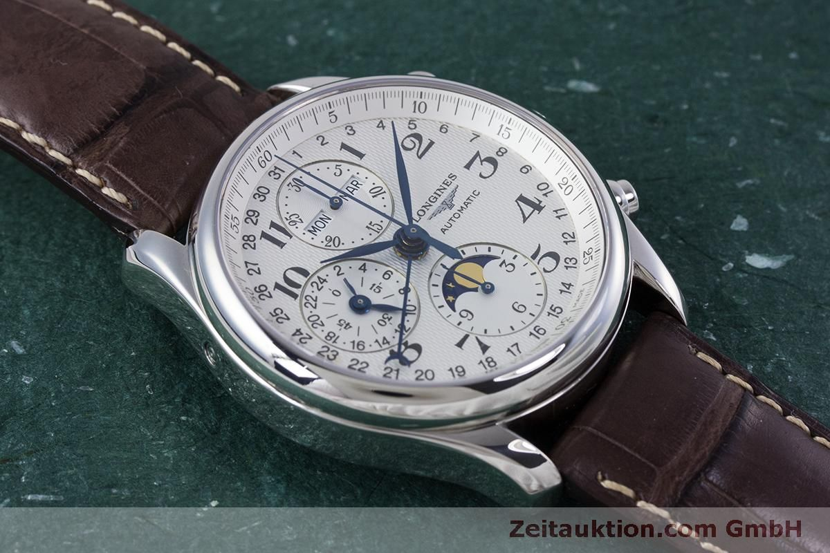 Modulmaster Erfahrungen Longines Master Collection Chronograph Steel Automatic Kal