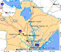 Cities in Berkeley County, South Carolina