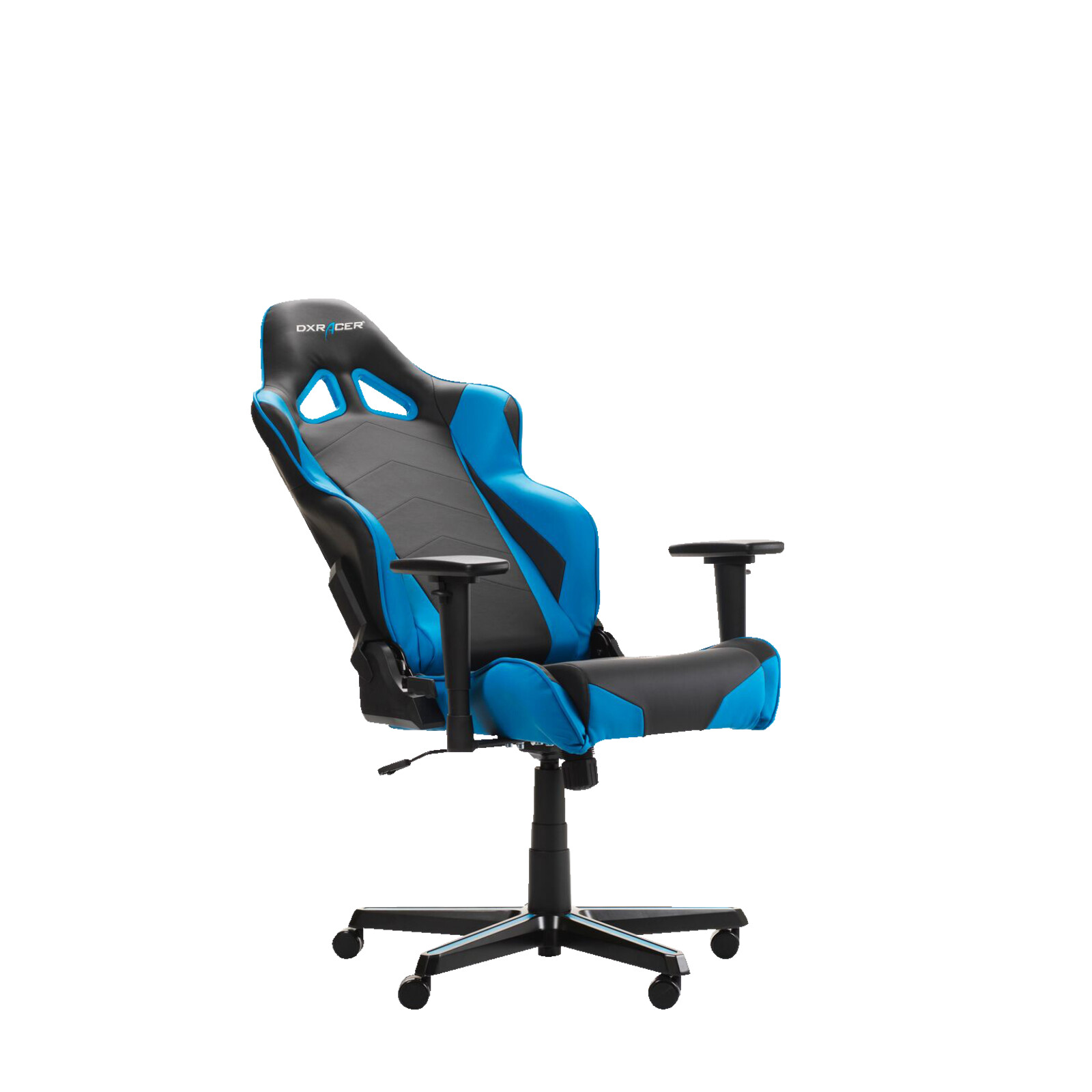 Gaming Sessel Ebay Details Zu Dxracer Racing R0 Gaming Chair Black Blue Gaming Stuhl Schwarz Blau