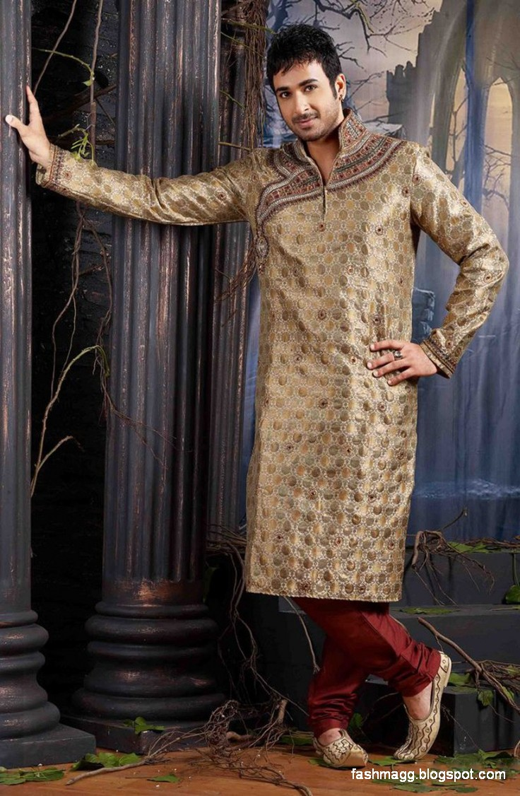 1 kurtas designs men male new latest silk cotton kurta style design
