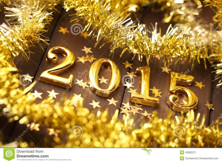 Fashion Glamour World Happy New Year Greeting Cards Designs 2015