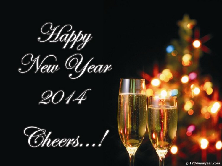 Happy New Year Greeting Card 2014 Design Pictures-Image-New Year