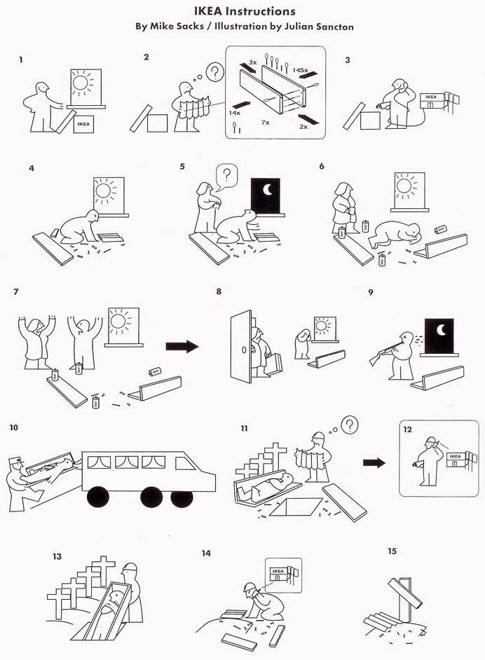 Ikea Küche Aufbauanleitung Poster Ikea Instructions Really Funny Pictures Collection On
