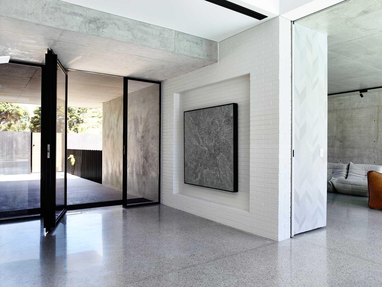 Maison Moderne Grise | Facade Maison Grise Et Blanche Great Best ...