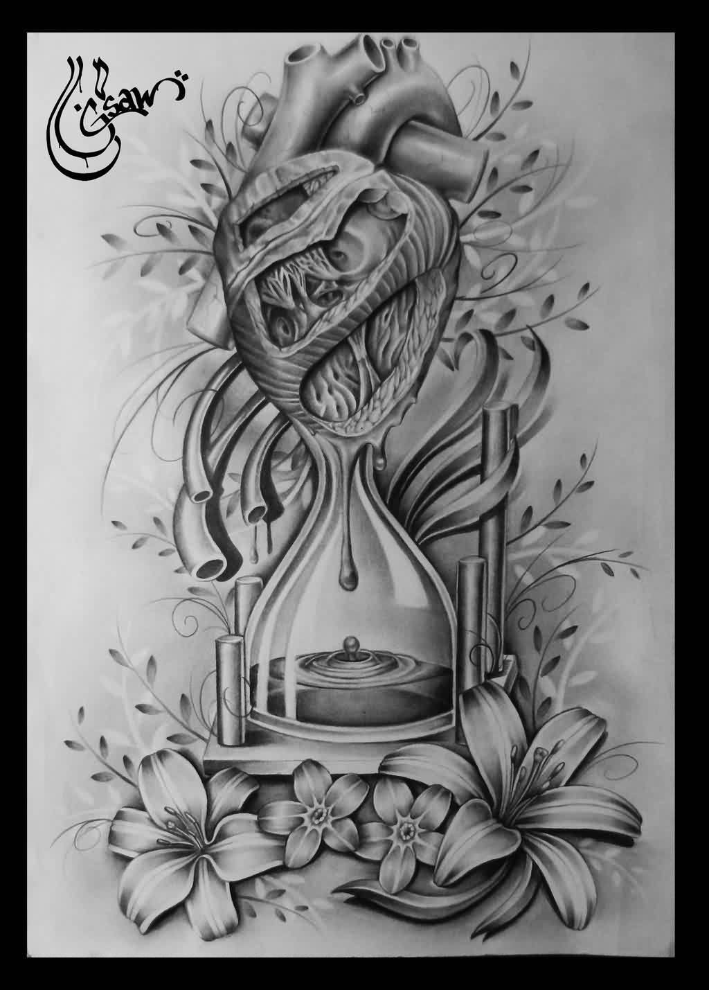 Watch 40 Time Waits For No Man Tattoo Designs For Men – Quote Ink Ideas video