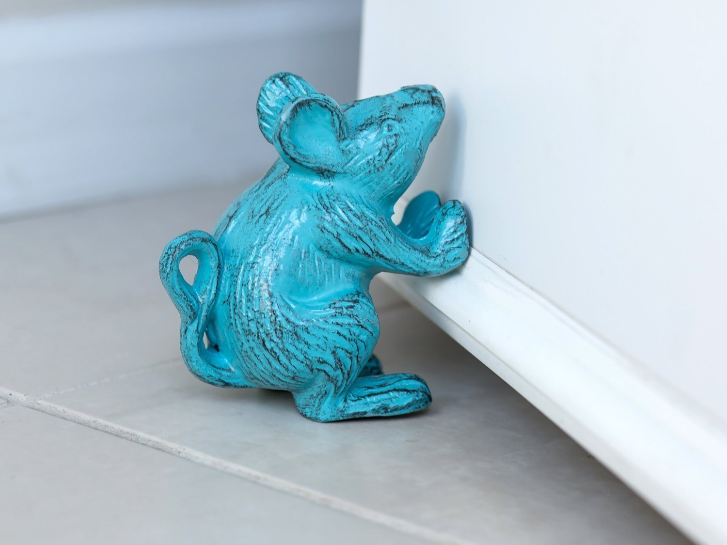 Decorative Door Stops Cast Iron Mouse Decorative Door Stop 001 Picsmine