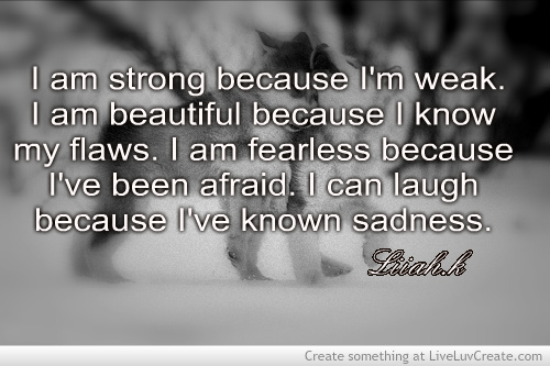 Good Vibes Quotes Wallpaper Motivational Love Quotes I Am Strong Because Im Weak