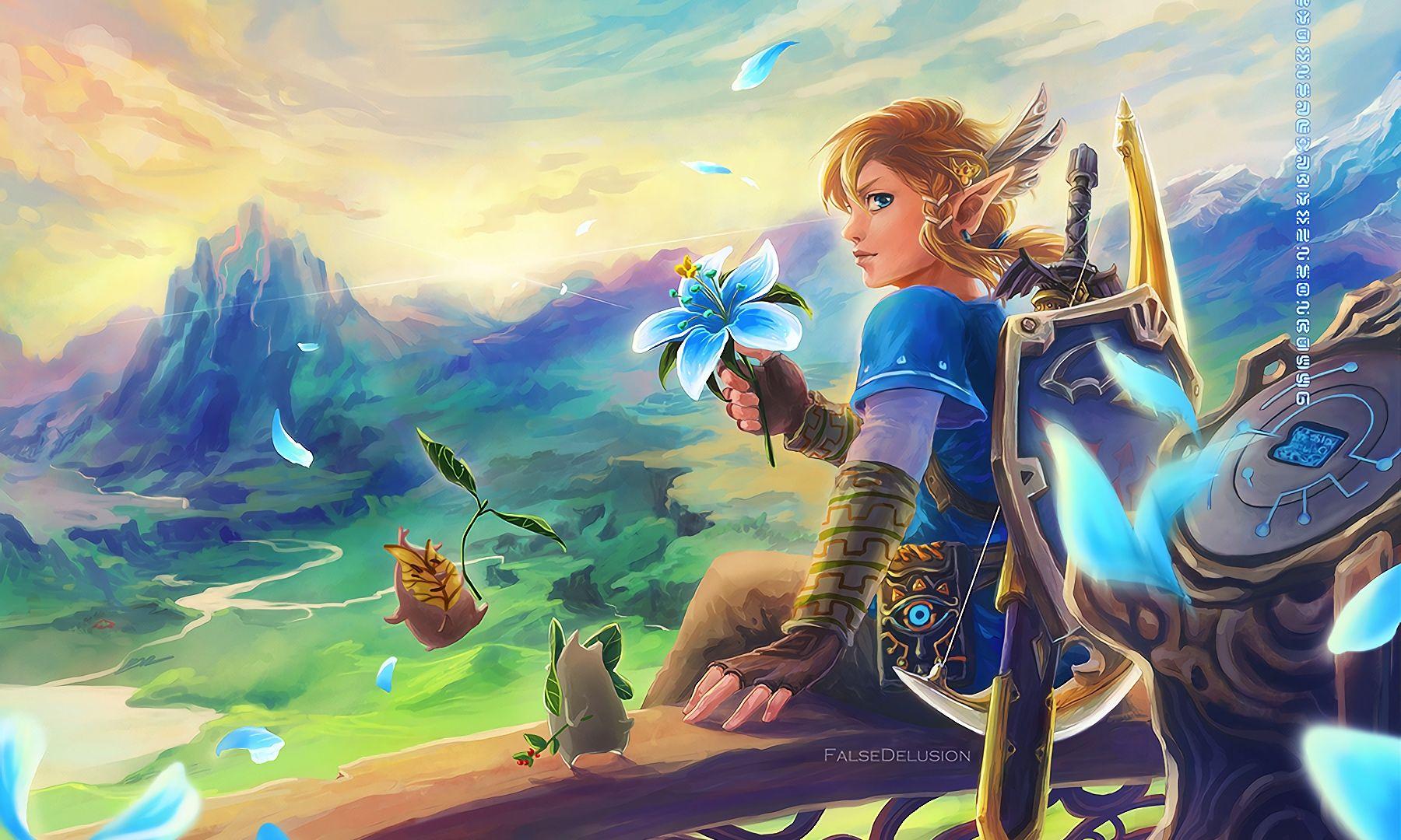 The Legend Of Zelda Wallpaper Hd Desktop Wallpaper The Legend Of Zelda Breath Of The Wild