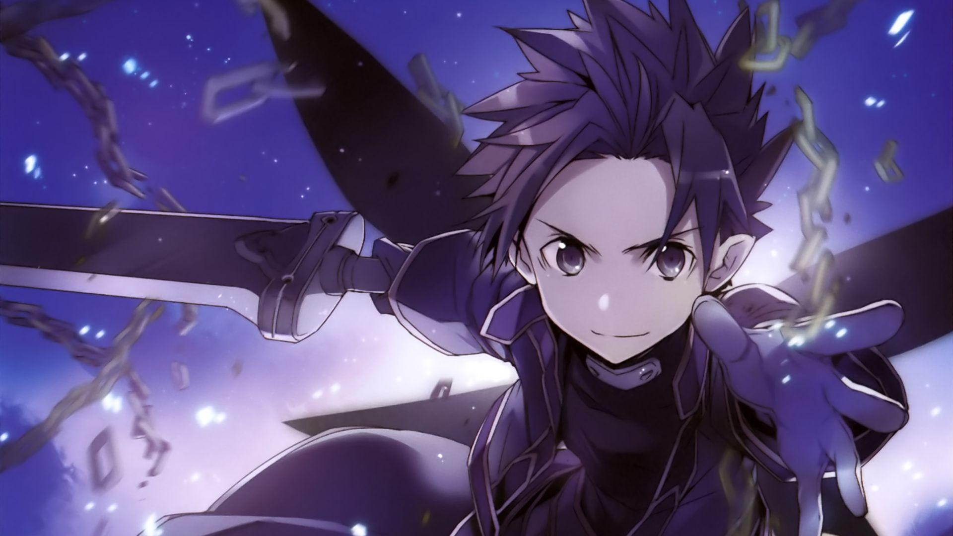 3d Wallpapers Hd Full Hd 1080p 1920x1080 Desktop Wallpaper Kirito Sword Art Online Anime Sao Hd
