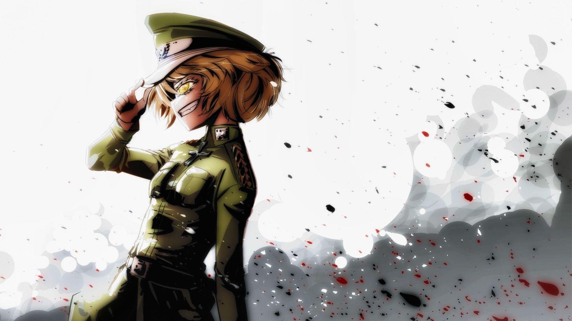 Wallpaper Engine Gun Anime Girl Desktop Wallpaper Youjo Senki Army Tanya Anime Girl Hd
