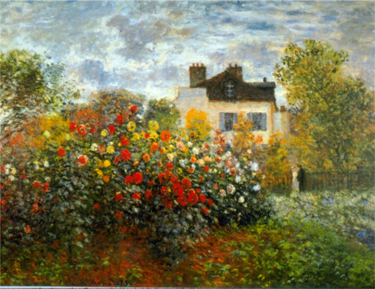 Photo Argenteuil Argenteuil By Monet Monet Canvas Artwork