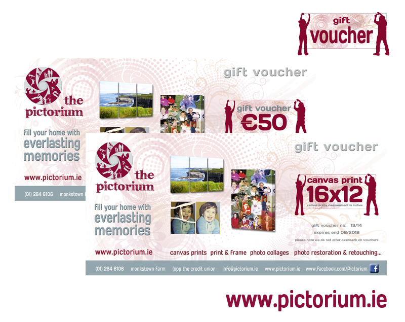 Pictorium Gift Vouchers - Pictorium - Dublin Photo Printing - print your own voucher