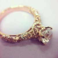 Antique Rings: Antique Rings Vintage Gold