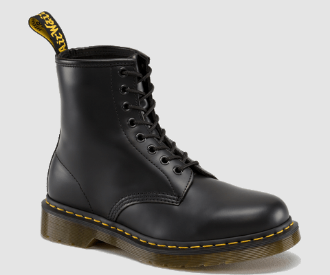 Dr Martens 1460 Black Smooth Doc Martens Boots And Shoes