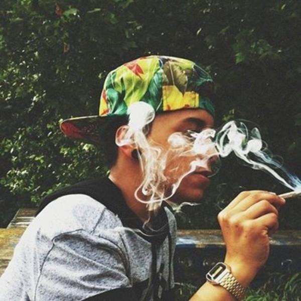 Girl Smoke Weed Wallpaper Hd Hat Jacket Smoke Boy Swag Wheretoget