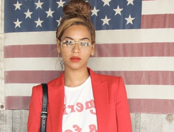 Beyonce Wearing Sunglasses Available For 6 At Amazoncom