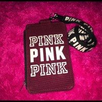 PINK Victoria's Secret - Vs pink id holder lanyard from Bella