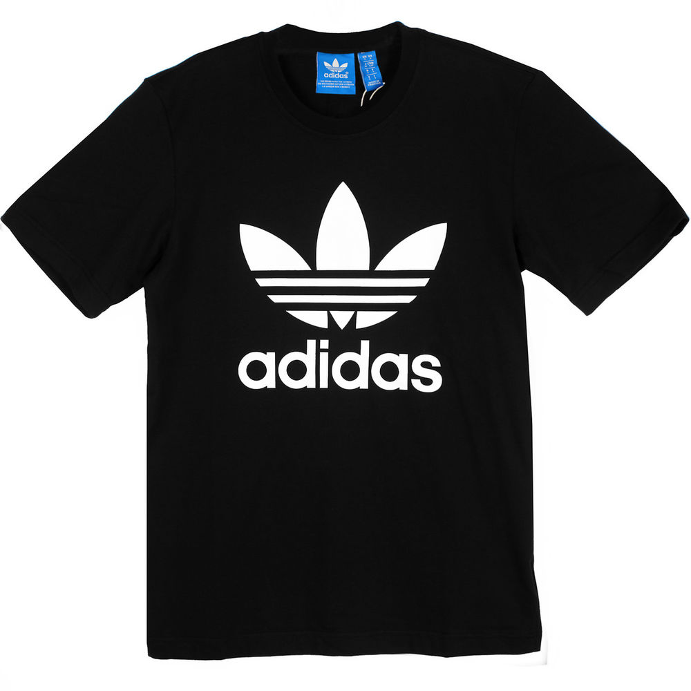 Black and white adidas t shirt